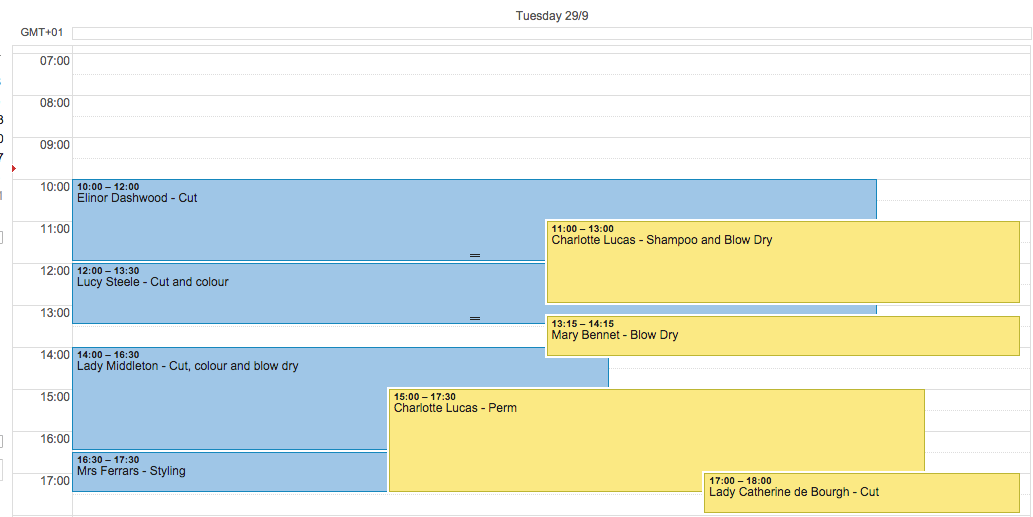 Google Calendar after iCal feed import